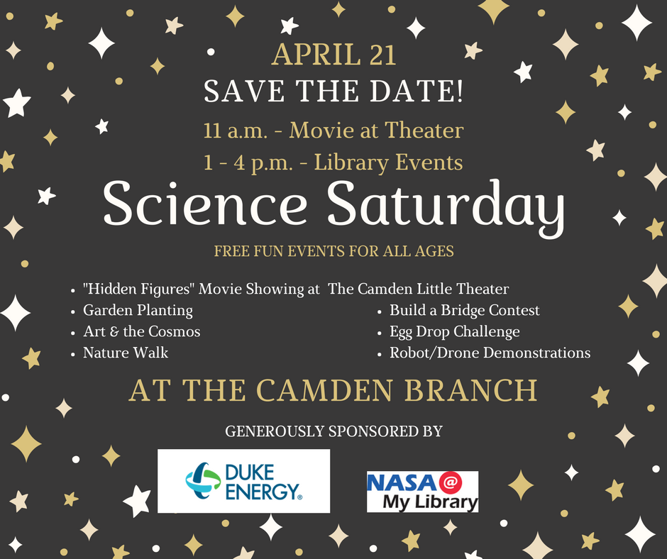 Science Saturday Library Event 4-21-18
