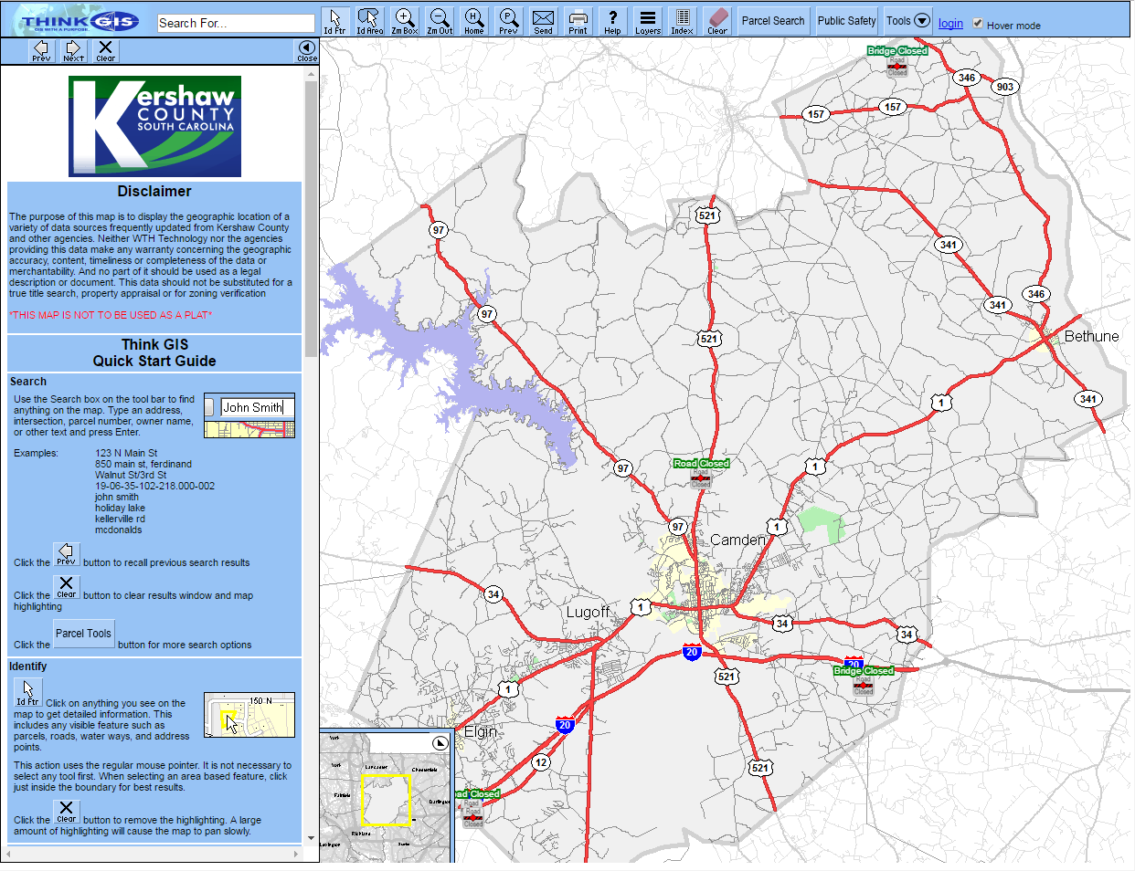 GIS / Mapping | Kershaw County, SC